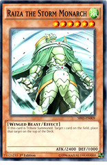 Raiza the Storm Monarch - SR01-EN009 - Common - 1st Edition