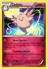 Clefable - 82/122 - Rare