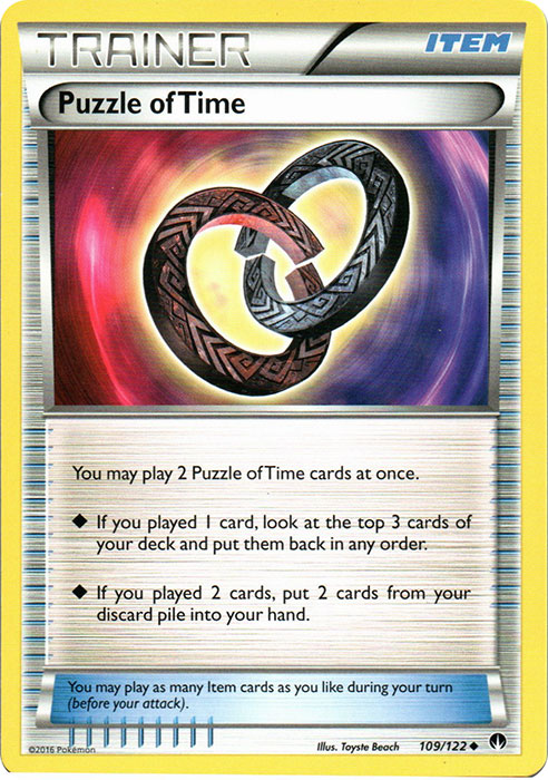 Puzzle of Time - 109/122 - Uncommon