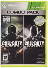 Call of Duty Black Ops / Call Of Duty Black Ops II Combo Pack Platinum Hits