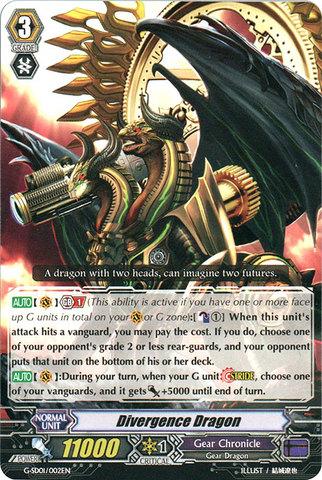 Divergence Dragon - G-SD01/002