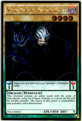 Vector Pendulum, the Dracoverlord - PGL3-EN041 - Gold Rare - 1st Edition
