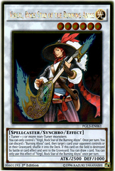 Virgil, Rock Star of the Burning Abyss - PGL3-EN061 - Gold Rare - 1st Edition