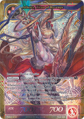 Athena, Titan of Revenge - TMS-018 - SR - Full Art on Channel Fireball