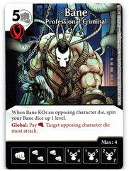 Bane - Professional Criminal (Die & Card Combo)