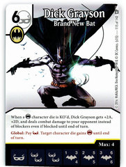Dick Grayson - Brand New Bat (Die & Card Combo)
