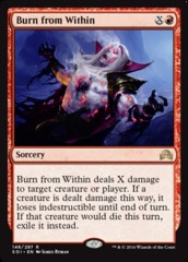Burn from Within - Foil on Channel Fireball
