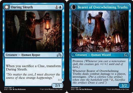 Daring Sleuth // Bearer of Overwhelming Truths - Foil