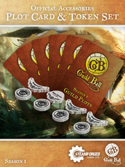 Guild Ball Plot Card & Token Set Season 1