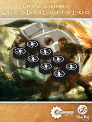 Guild Ball Knocked Down Condition Tokens