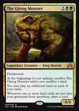 The Gitrog Monster - Foil