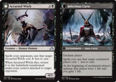 Accursed Witch // Infectious Curse - Foil on Channel Fireball