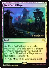 Fortified Village - Foil - Prerelease Promo