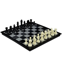 Folding Magnetic Board Chess & Checkers