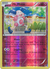 Mr. Mime - 67/124 - Rare - Reverse Holo