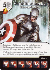 Captain America - Man on the Run (Card Only)