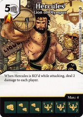 Hercules - Lion of Olympus (Die & Card Combo)