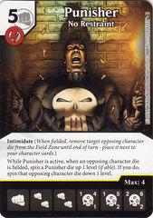 Punisher - No Restraint (Die & Card Combo)