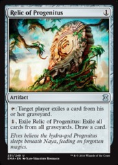Relic of Progenitus on Channel Fireball