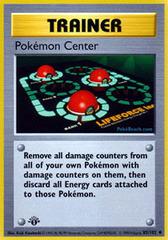 Pokemon Center - 85/102 - Uncommon - 1st Edition