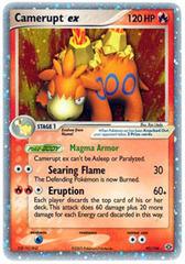 Camerupt-EX - 92/106 - Rare Holo EX