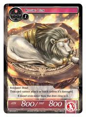Napping Lion - BFA-025 - U