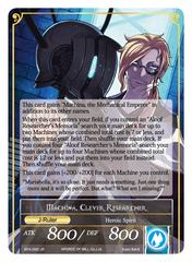 Memoria of the Seven Lands // Machina, Clever Researcher - BFA-093 - R - Full Art