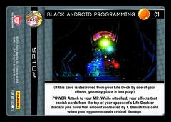 Black Android Programming - C1