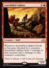 Assembled Alphas on Channel Fireball