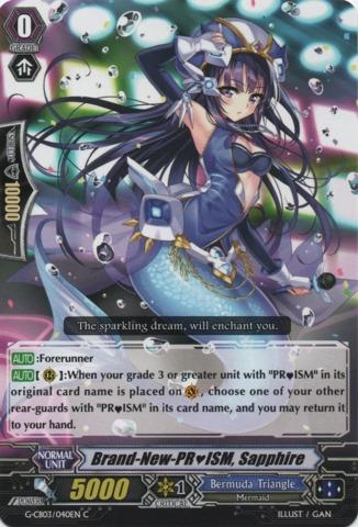 Brand-New-PRISM, Sapphire - G-CB03/040EN - C