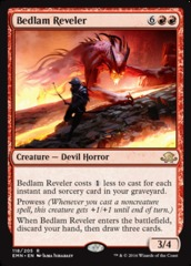 Bedlam Reveler - Foil on Channel Fireball