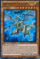 Arkbrave Dragon - SR02-EN000 - Ultra Rare - 1st Edition