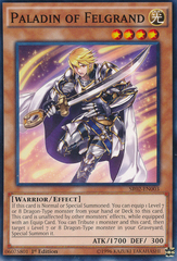 Paladin of Felgrand - SR02-EN003 - Common - 1st Edition on Channel Fireball