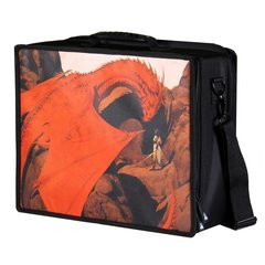 Pirate Lab Card Case: Large - Red Dragon