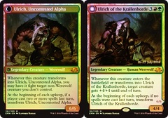 Ulrich of the Krallenhorde // Ulrich, Uncontested Alpha - Foil - Prerelease Promo