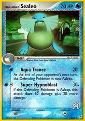 Team Aqua's Sealeo - 16/95 - Rare
