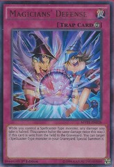 Magicians' Defense - MVP1-EN028 - Ultra Rare - 1st Edition