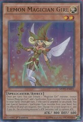 Lemon Magician Girl - MVP1-EN051 - Ultra Rare - 1st Edition