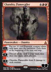 Chandra, Flamecaller (SDCC 2016 Promo) on Channel Fireball