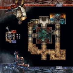Imperial Assault - Skirmish Maps - Coruscant Landfill Skirmish Map