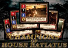 Spartacus - Champions of House Batiatus Card Set