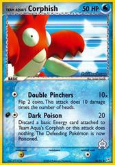 Team Aqua's Corphish - 26/95 - Uncommon