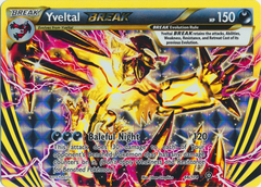 Yveltal BREAK - 66/114 - Rare BREAK