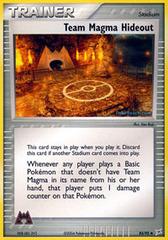 Team Magma Hideout - 83/95 - Uncommon
