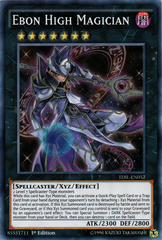 Ebon High Magician - TDIL-EN052 - Super Rare - 1st Edition
