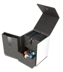 Ultra Pro Pro-Tower 3-Compartment White Artist Deck Box