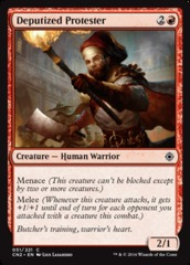 Deputized Protester - Foil