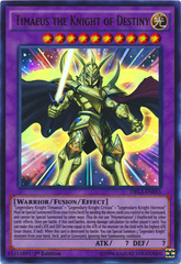 Timaeus the Knight of Destiny - DRL3-EN055 - Ultra Rare