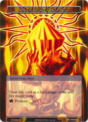 Magic Stone of Heat Ray - CFC-092 - R - Textured Foil