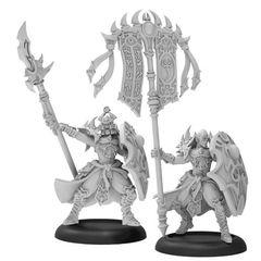 Praetorian Karax Commander & Standard